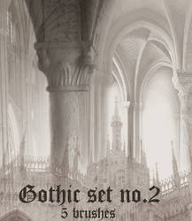 Gothic Brush Set 2