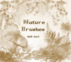 Nature Brushes set.1