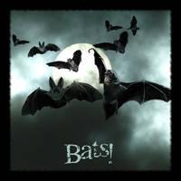 Bats - PS Brushes by wyckedBrush