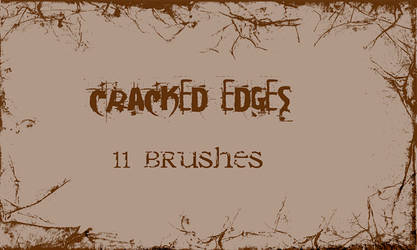 Cracked Edges - PS Brushes