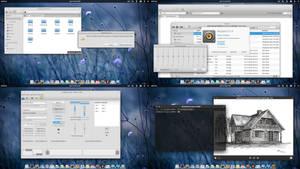 elementary OS eGtk theme modded