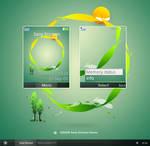 GAIA09 Sony Ericsson Theme