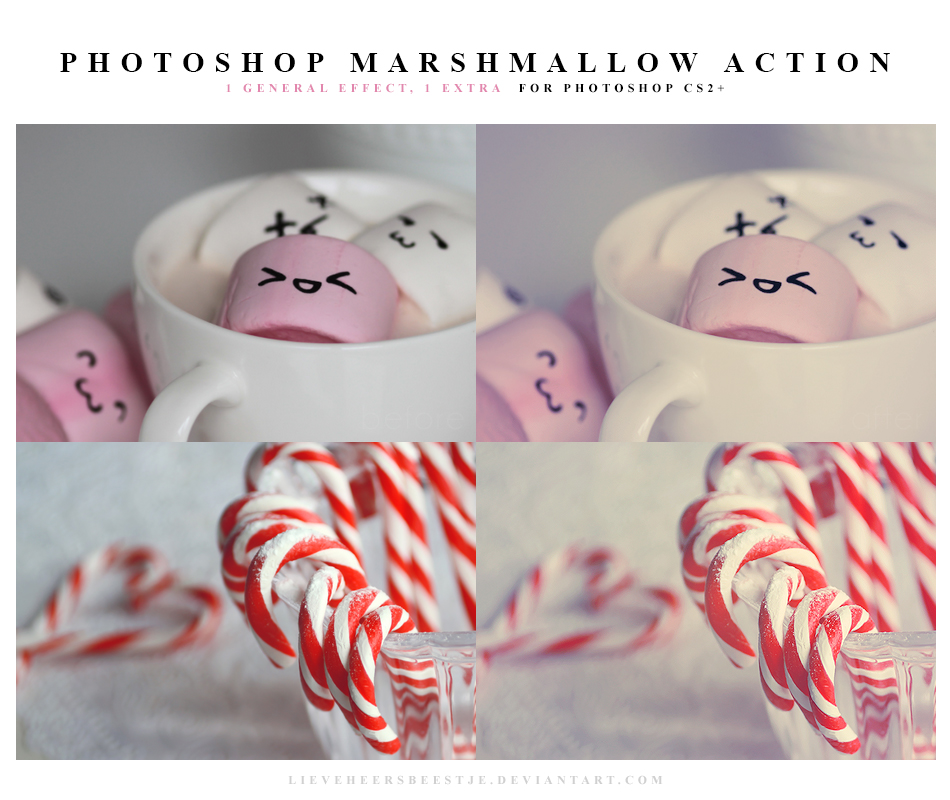 Photoshop Marshmallow Actions by meganjoy on DeviantArt