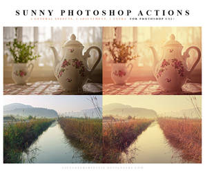 Photoshop Actions Sunny