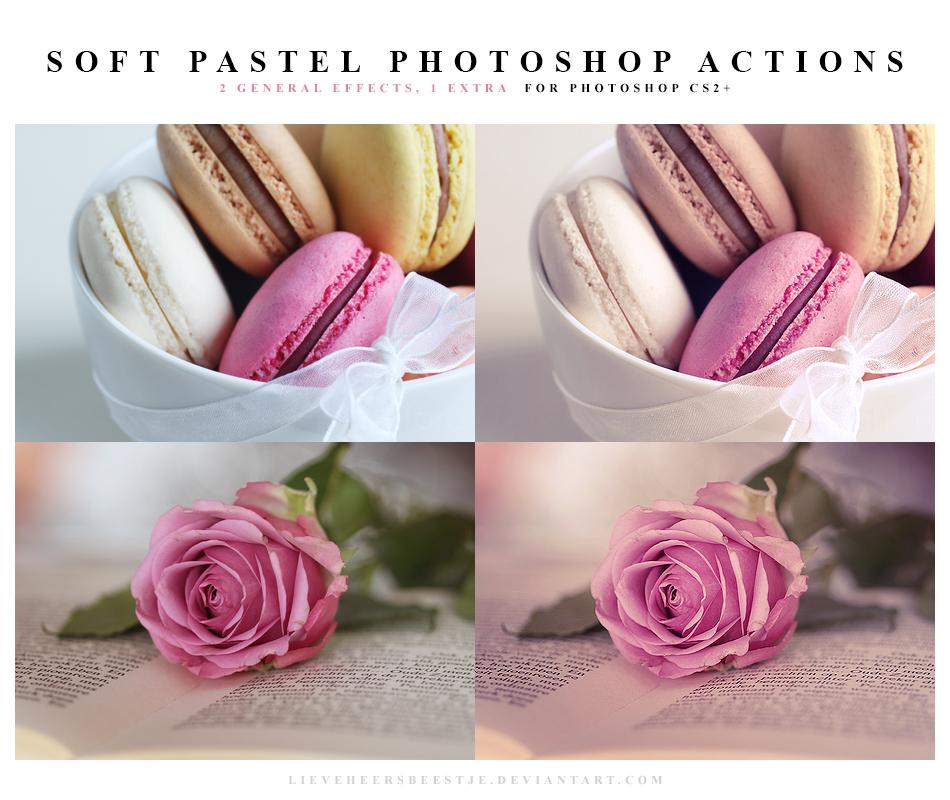 Photoshop Soft pastel Actions by meganjoy