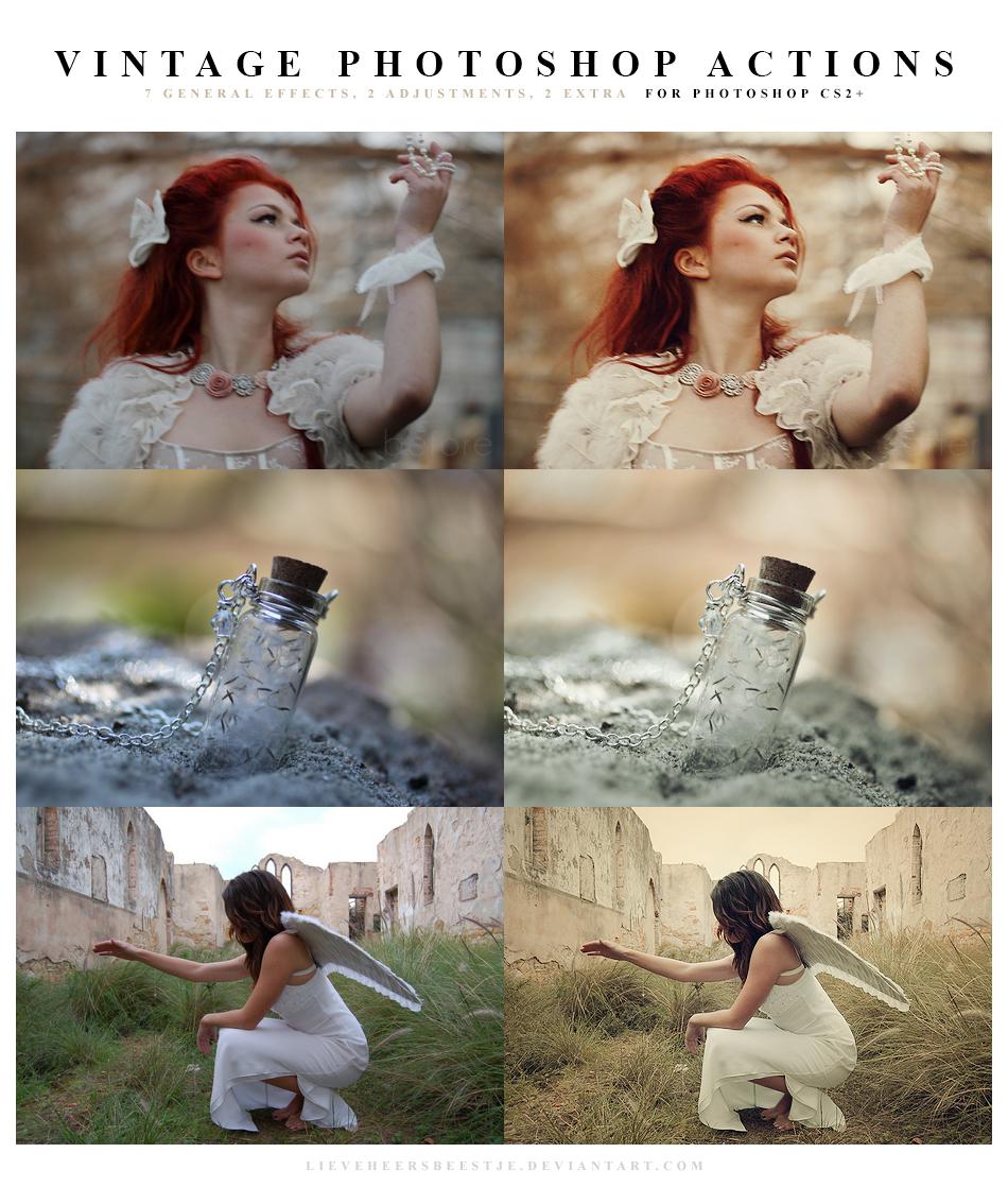 Photoshop Vintage Actions