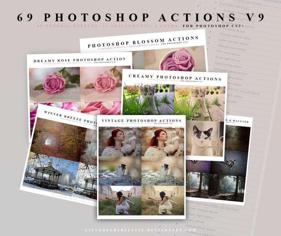 69 Photoshop Action V9 by meganjoy