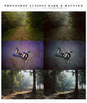 Photoshop Actions dark and haunted