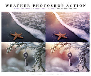 Weather Photoshop Action
