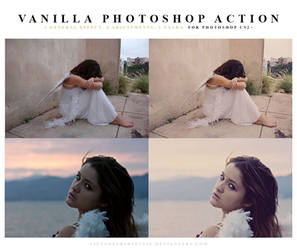 Photoshop Vanilla Action by meganjoy