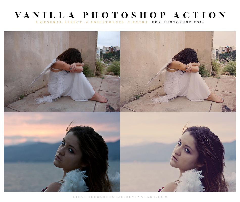 Photoshop Vanilla Action by meganjoy