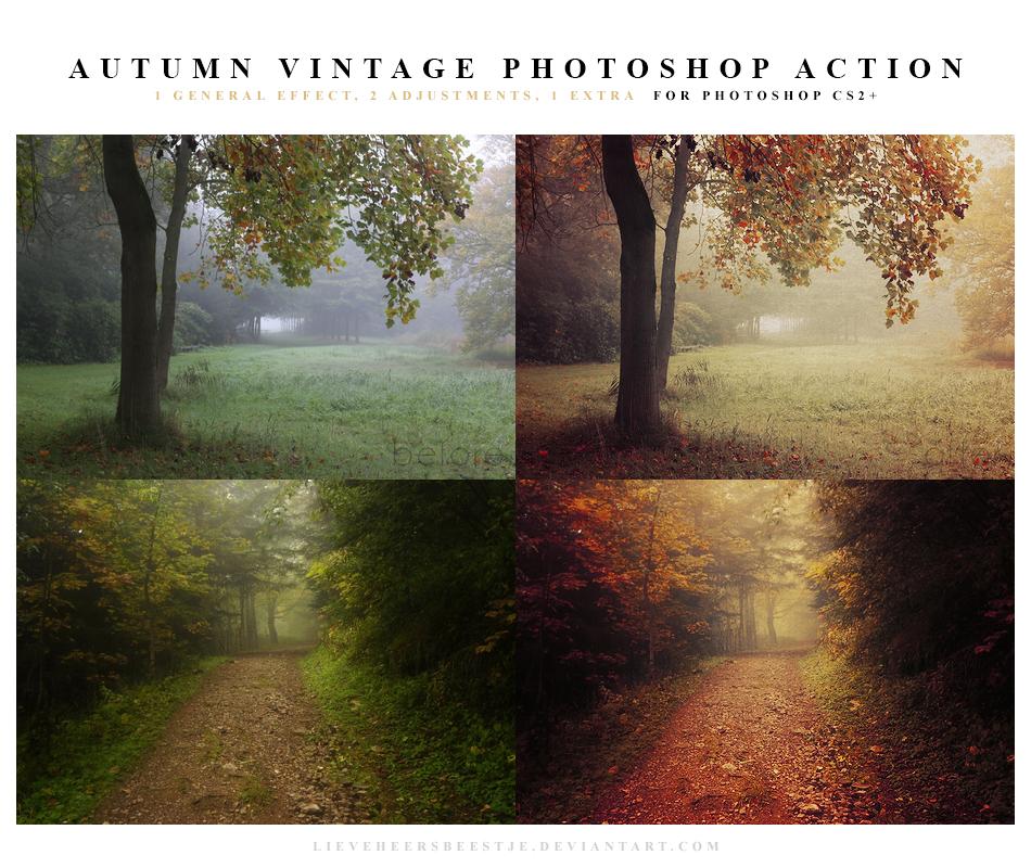 Autumn vintage Photoshop Action by lieveheersbeestje on DeviantArt