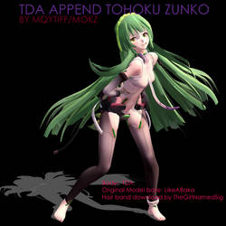 TDA append Tohoku Zunko download