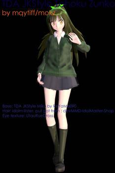 JK Style Tohoku Zunko download