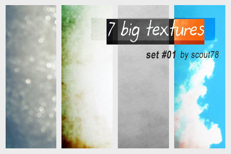 Big Textures Set 01 by scout78