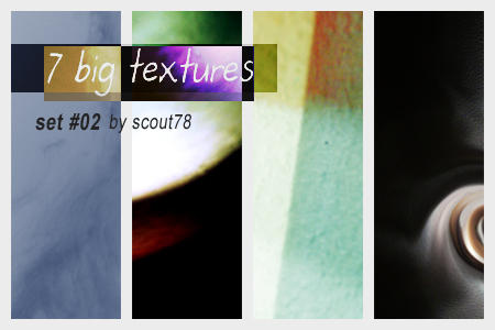 Big Textures Set 02 by scout78