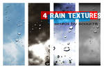 4 rain textures - set 1