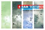 4 rain textures - set 2