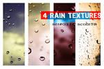 4 rain textures - set 3