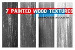 7 painted wood textures
