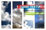 cloud textures - set 1