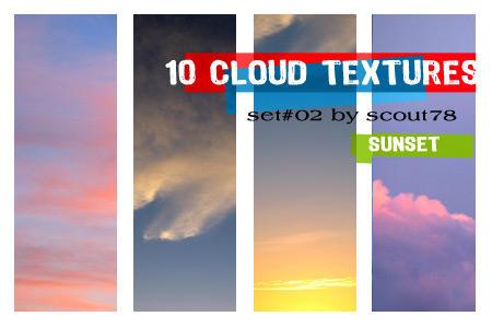 cloud textures - set 2 by scout78