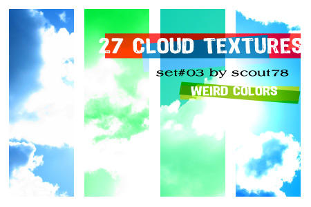 cloud textures - set 3 by scout78
