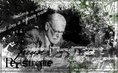 Brushes :: Sigmund Freud by Peristrophe