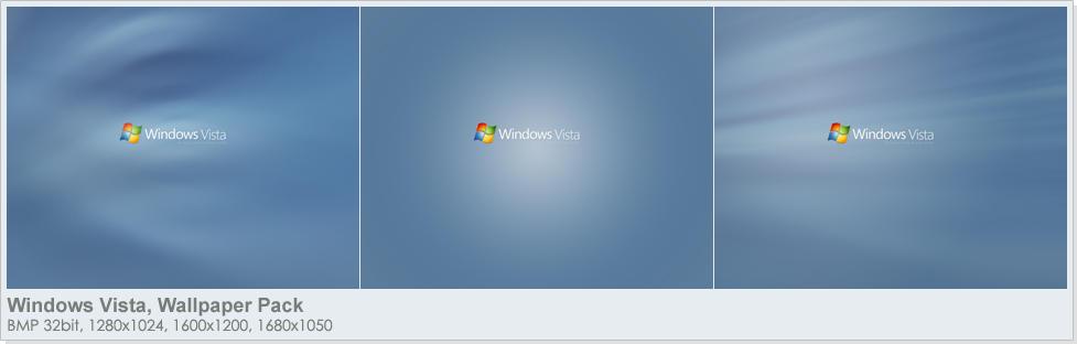 Windows Vista Wallpaper Pack by digitalsoft