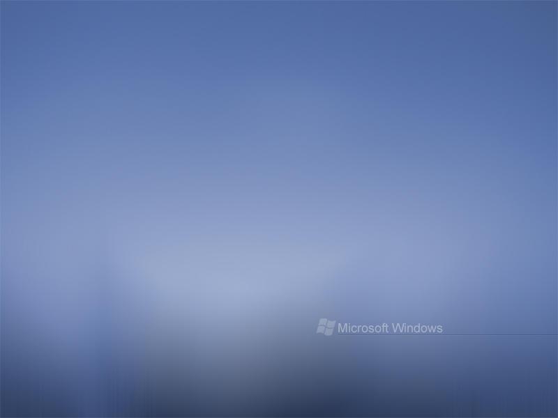 Blue Microsoft Windows by digitalsoft