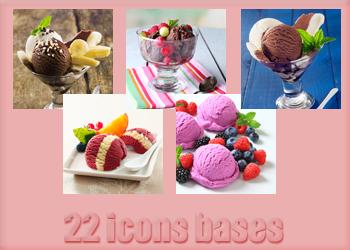 Ice Cream Bases by Monikanarnia