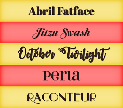 Font Pack 24 by Monikanarnia