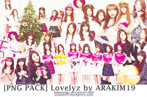 [PNG PACK] LOVELYZ FOR IZE MAGAZINE BY ARAKIM19 by babyjung2