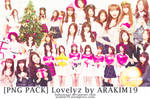[PNG PACK] LOVELYZ FOR IZE MAGAZINE BY ARAKIM19