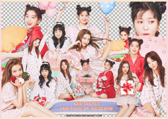 [PNG PACK] Red Velvet - Christmas Home Party
