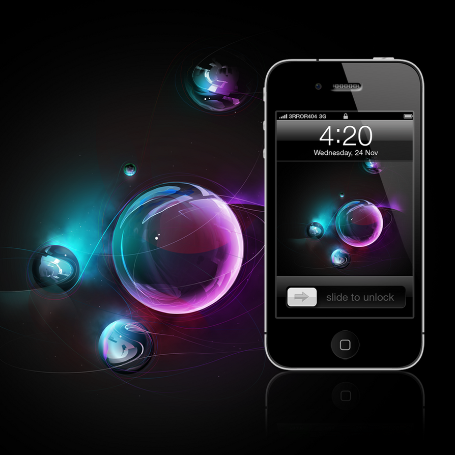 Triple Double iPhone Wallpaper by 3rror404