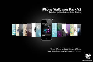 iPhone Wallpaper Pack V2 by 3rror404