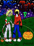 Zombified Ky and Jer by Enerdyte