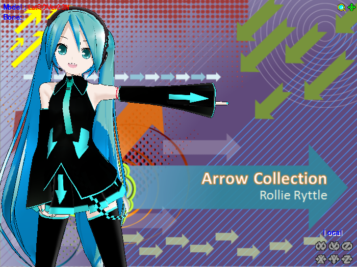 Arrow Miku Download by RollieRyttle