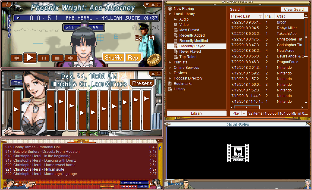 Phoenix Wright - Ace Attorney by luigihann