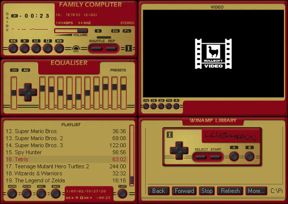 Famicom Controller by luigihann