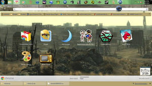 fallout 3 google chrome theme