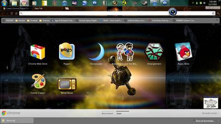 Firefly,Serenity tv series google chrome wallpaper