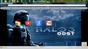 Halo 3 ODST chrome theme