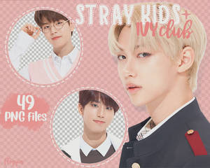 [PNG PACK] STRAY KIDS (ivy club)