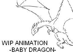 WIP baby dragon
