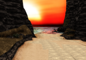 Small Beach DL by Reseliee