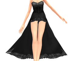 Gothic Dress DOWNLOAD by Reseliee