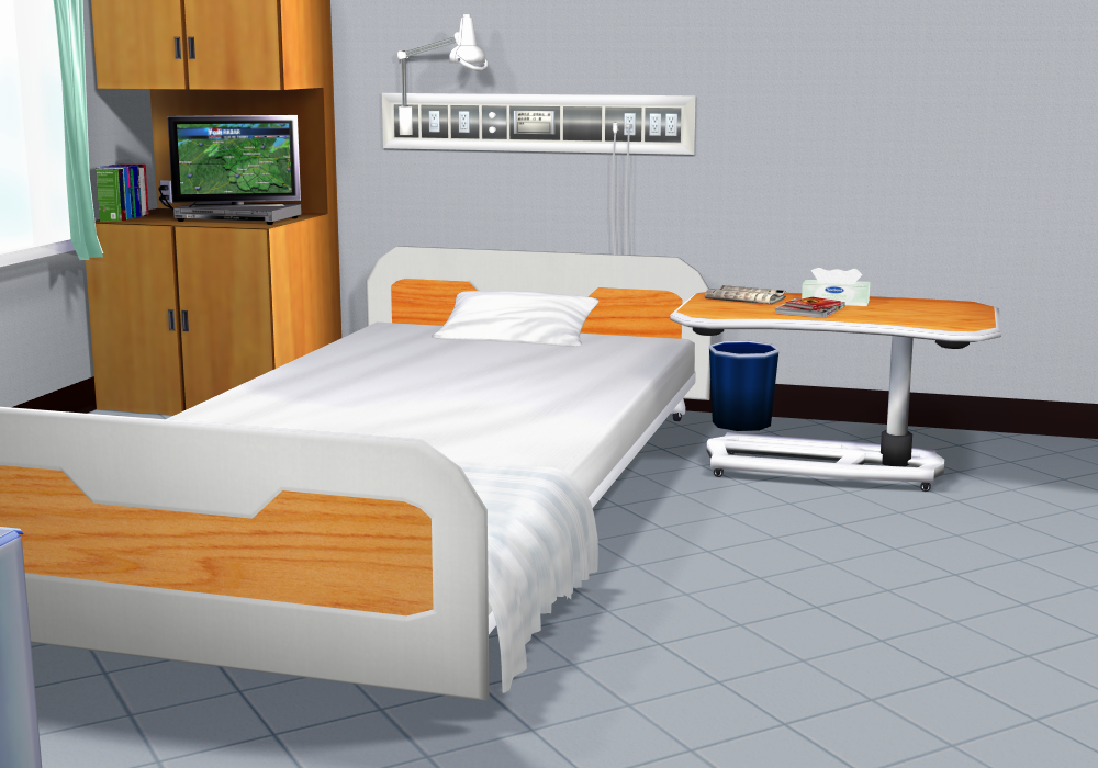 Hospital Room DOWNLOAD by KohakuUme6