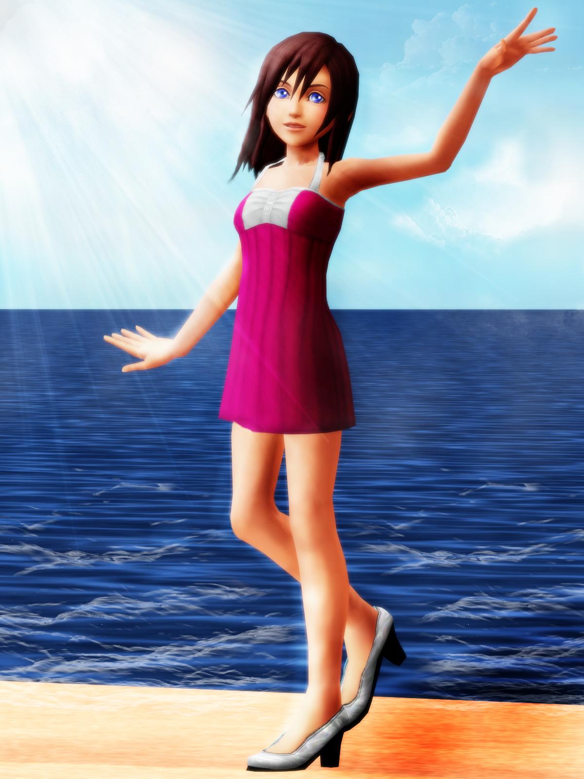 Kairi (random dress) DOWNLOAD by KohakuUme6